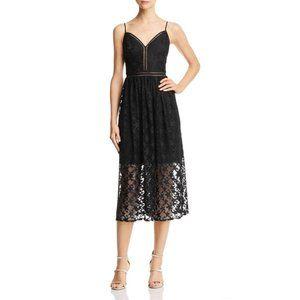 NWT Betsey Johnson Star Lace Midi Dress - size 12